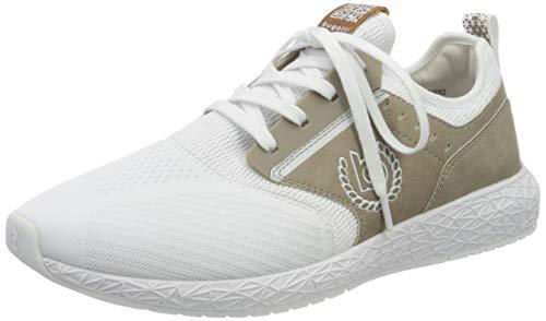 bugatti Herren 346518676969 Slip On Sneaker, Weiß, 46 EU