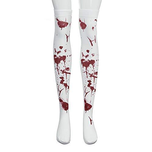 Scary Socken Evil Bone Skeleton Zombie Blood Overknee Strümpfe Männer Frauen Kleinkind Halloween Crazy Socks