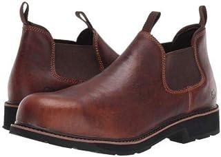 [ウルヴァリン] メンズ 男性用 シューズ 靴 ブーツ 安全靴 ワーカーブーツ Ranchero Steel Toe Romeo - Brown [並行輸入品]
