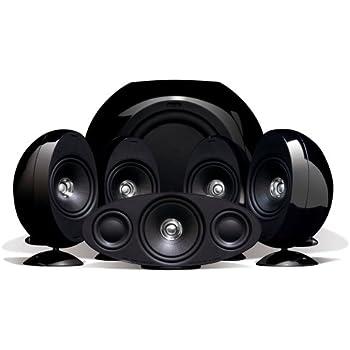 KEF KHT3005BL (SE) 5.1 Home Theater Speaker System (Gloss Black) (Discontinued by Manufacturer)