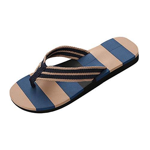 HDUFGJ Hausschuhe Badelatschen Anti-Skid für Strand und Pool Plush Erwachsene Pantoffeln Sandalen Clogs & Pantoletten Pantoffeln40 EU(Blau)