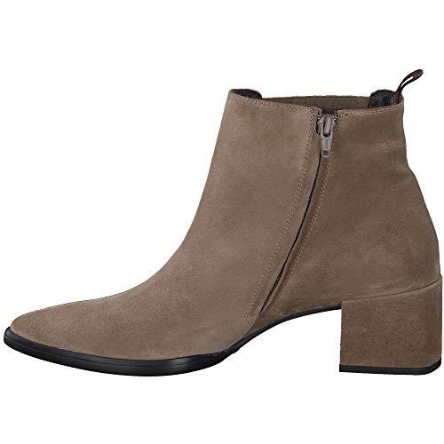 Paul Green Damen Stiefelette, Frauen Chelsea Boots, weiblich Ladies feminin elegant Women's Women Woman Freizeit leger Bootie,Grau,6 UK / 39 EU