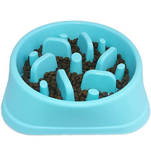 Decyam Anti Schling Napf Hund Hundenapf Langsame Fütterung Langsam Fressen Slow Feeder Dog Bowl