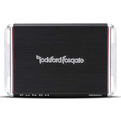 Rockford Fosgate Punch 4-Channel Amp (PBR300X4)