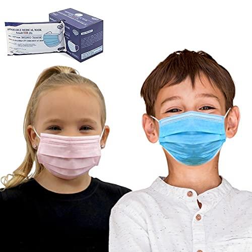 Para niños, 50 uds Mascarilla Quirúrgica IIR infantil Homologada CE...