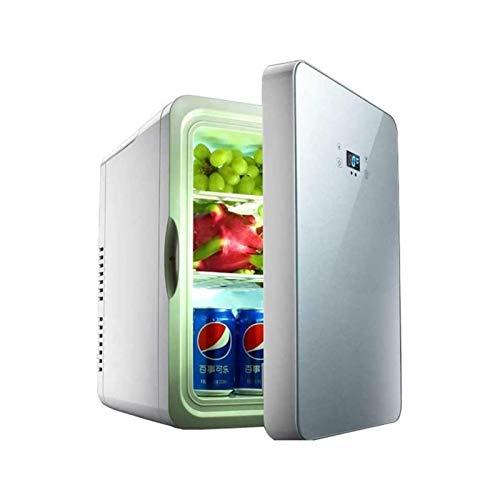 SFLRW Mini kylskåp till sovrum, 20l mini kylskåp & makeup kylskåp för hudvård, bil kylskåp kylare och varmare med AC/DC, minikylskåp för hudvård och kosmetika, för kontor/sovrum/bil.