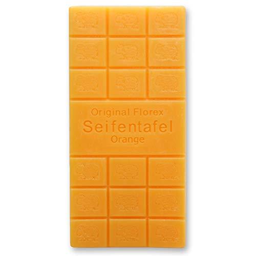 Florex Savon au lait de brebis - Orange - Parfum floral - enchantera chaque salle de bain - 100 g