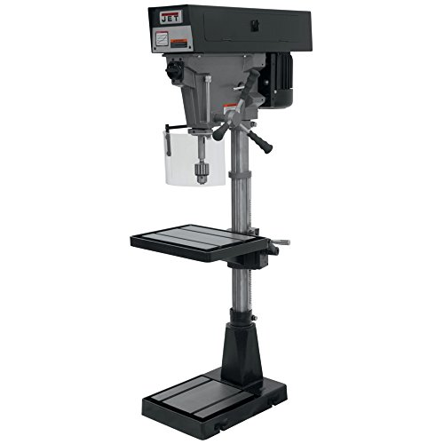 Review JET J-A3816 15-Inch Single Phase 6 Speed Floor Model Drill Press