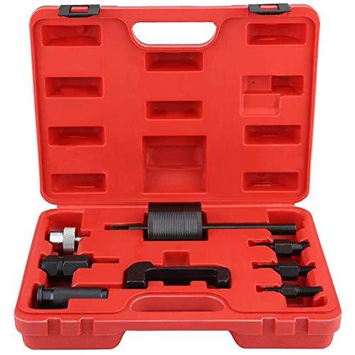 Extractor de inyector, extractor de inyector de carril común de 8 piezas, juego de extractor diésel para CDI