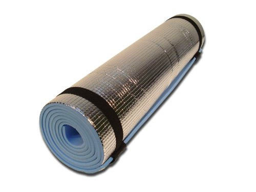 Yellowstone Eva Camping Mat With Foil - Blue