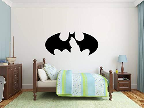 Größ Batman Tapete Kinder Zimmer Geschenk Mehrfarben Baby Peel und Stick Mauer Aufkleber Gotham Wächter 3D Zuhause Dekoration Wandaufkleber
