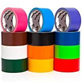 Best Duct Tapes - Craftzilla Colored Duct Tape - Variety Pack -12 Review