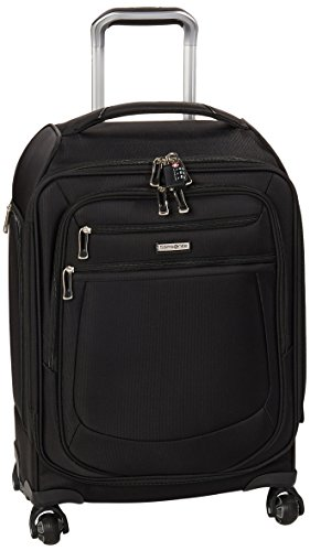 Samsonite Mightlight 2 Softside Luggage with Spinner Wheels, Black, Carry-On 21-Inch