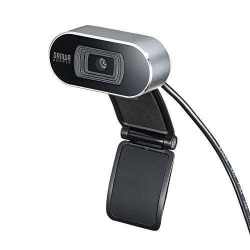 サンワサプライ WEBカメラ オートフォーカス機能搭載 フルHD マイク内蔵 Skype Zoom Teams対応 CMS-V45S