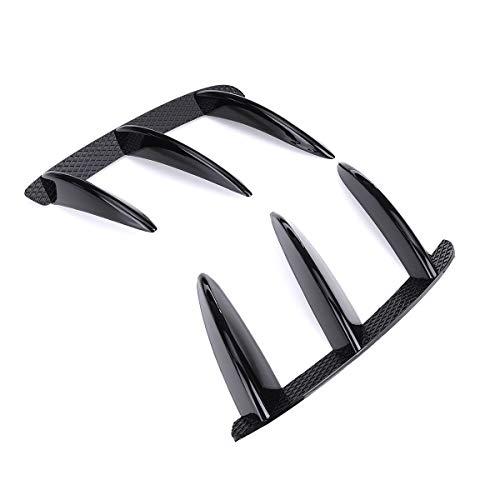 GYQDM Spoiler Splitter paraurti Posteriore, 1 Paio di Auto Nero ABS Canard per W176 A200 A250 A260 A45 per AMG
