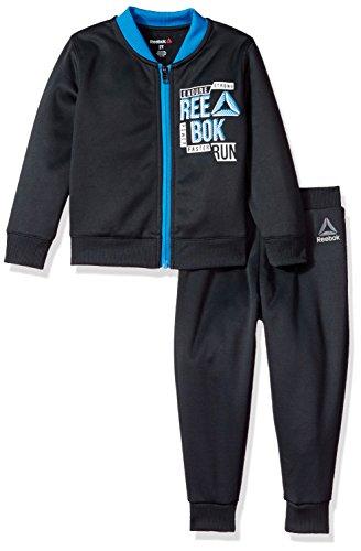 Reebok 2 Piece Athletic Set Juego de pantalones, 2036-gris pizarra, 2 años para Niños