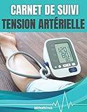 Carnet de suivi – Tension artérielle: 1 an de relevé - 3 mesures à noter le matin et 3 le soir - Tension systolique, diastolique et fréquence cardiaque