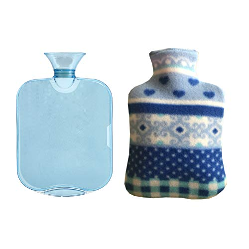 Wärmflasche mit weichem Bezug, 2 l