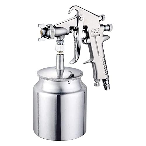ZQYX Herramientas para Pintar automóviles, Boquilla neumática F-75 1,5 mm, Herramientas multifunción para Pintar automóviles, máquina para pulverizar Pintura de Alta atomización (600 ml)