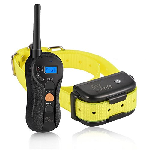 AsyPets Waterproof & Rechargeable Dog Training Collar for 15-100lb,...