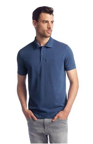 BOSS Hugo Polo - Homme Bleu Bleu Marine - Bleu - Bleu Marine - Large