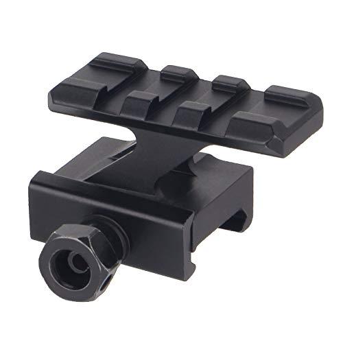 FOCUHUNTER Aluminium Taktisch Leuchtpunktvisier 20mm Weaver/Picatinny Zielfernrohrmontagen Adapter für Airsoft, Zielfernrohr, Jagdpistole