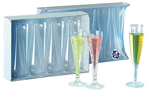 Mallard Ferrière - Flute à Champagne Cristal Jetable - X100