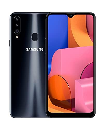 "Samsung Galaxy A20s - Smartphone 6.5"" Infinitiy V HD+ (teléfono 3GB RAM, 32GB ROM), Negro [Versión española]"