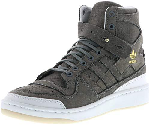 adidas Forum HI Crafted BW1253 Herren Sneaker grau/weiß, Farbe:Grau, Größe:45 1/3
