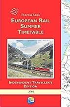 Thomas Cook European Rail Timetable: Summer 2004 (Thomas Cook)