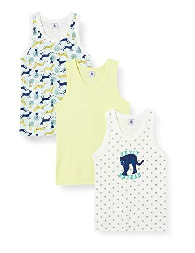 Petit Bateau 5296900 Camiseta sin Mangas, Multicolor (Variante 1 Zga), 2 años para Niños