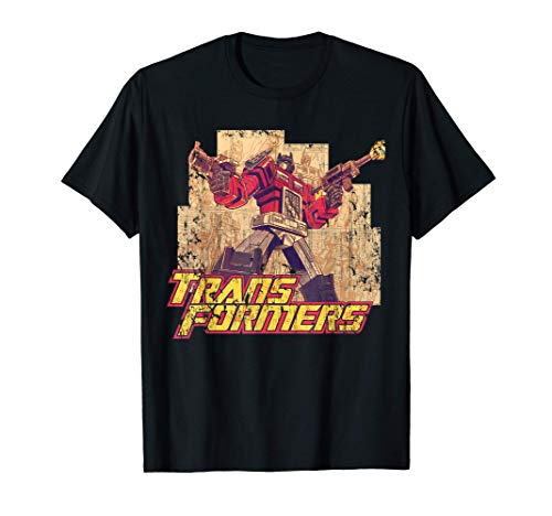 US Transformers Simon Furman Prime Montage 01 Camiseta