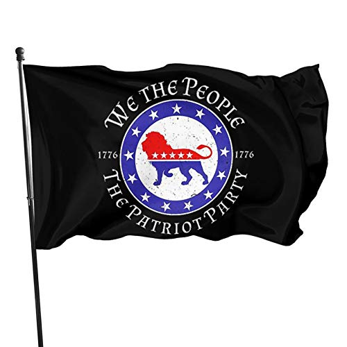 Leumius We The People are Pissed Off Flags Home Flag Garden Flag 3x5 Ft Garden Yard Decorative Outdoor Decorations