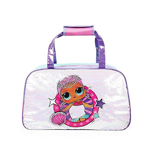 LOL Surprise Duffle Bag with Double Sided Sequins UPD Accessories,...