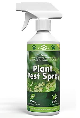KinderPet Natural Organic Plant Spray, Flowers, Fruit, Vegetables, Pest Control, Greenfly, Blackfly,...