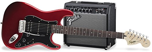 Fender Squier Affinity Pack HSS Guitarra eléctrica con ampl