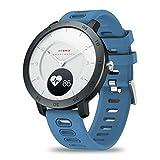 Zeblaze Hybrid Smart Watch para Hombre, Impermeable Bluetooth 4.0 Reloj Inteligente SmartWatchcon Monitor de Ritmo Cardíaco/Sueño, Podómetro para iOS Android (Azul)