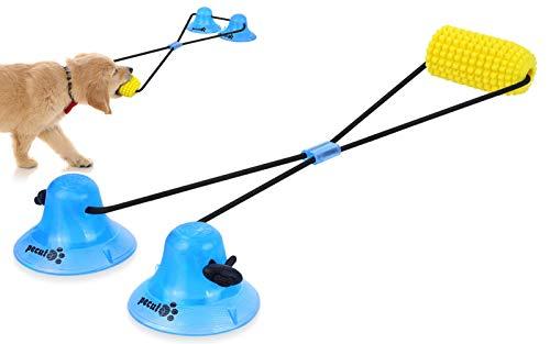 Pecute Juguete Masticable Interactivo para Perros, Pelota de