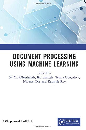 Document Processing Using Machine Learning Front Cover