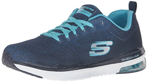Skechers (SKEES) Damen Skech-Flex-Tropical Vibes Funktionsschuh, Blau (navy), 37 EU