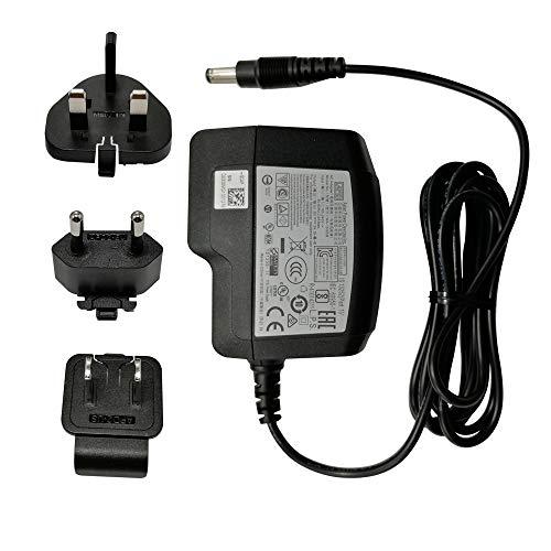 Adaptador universal de fuente de alimentación de CA 5 V 3 A 15 W, 100 – 240 V, 1,5 m, 2,5 mm, con enchufe múltiple para EE.UU., Reino Unido, UE, compatible con Android Box MINIX NEO U1, NEO U9-H