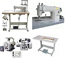 Runner Up for Best Industrial Sewing Machine: Yamata Industrial Sewing Machine with Servo Motor, Table Stand & LED Lamp