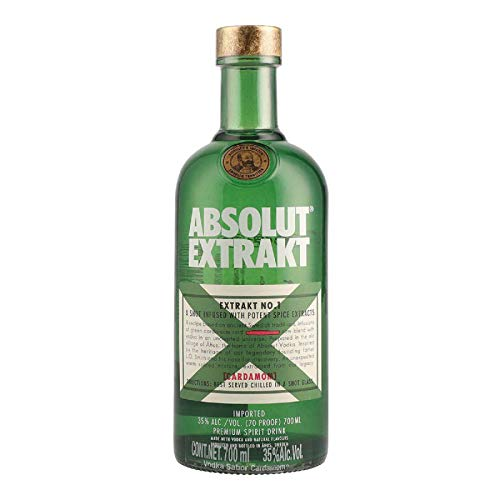 Absolut Extrakt No. 1 Cardamom Premium Spirit Drink 35% - 700 ml