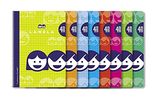 Paquete 10 Cuaderno Basico Lamela 4º 40H C/4