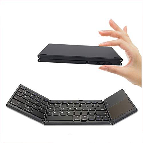 Teclado inalámbrico Plegable Bluetooth Recargable portátil