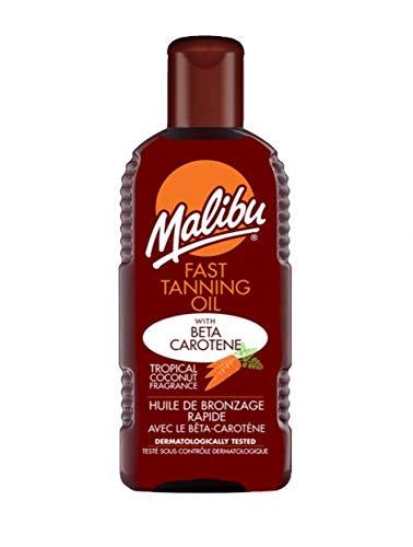 Malibu Fast Tanning Oil With Beta Carotene And Vitamin E 200ml