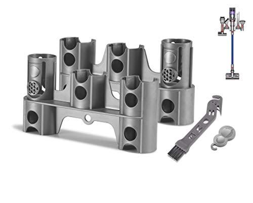 Supremery 2X Zubehör Halter Halterung Organizer Dockingstation für Dyson V11 V10 V8 V7 kabelloser Handstaubsauger Ersatzteile (2 Stück, ohne Bohren)