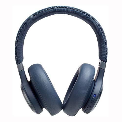 JBL LIVE 650BTNC kabellose Over-Ear Kopfhörer in Weiß – Bluetooth Ohrhörer mit Noise Cancelling, langer Akkulaufzeit und Alexa-Integration – Unterwegs Musik hören und telefonieren
