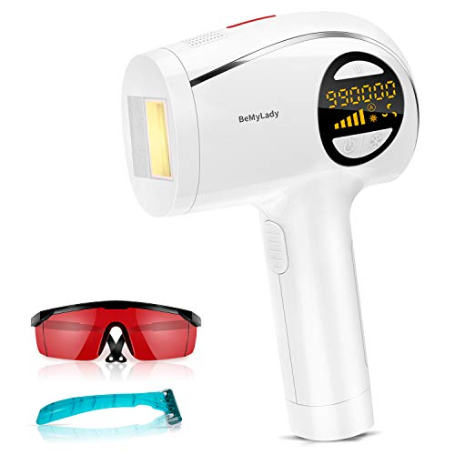Laser Hair Removal for Women and Men,990,000 Flashes Permanent Hair Removal with Ice Mode IPL Hair Removal for Removing Legs, Underarms, Bikini Area and Facial Hair