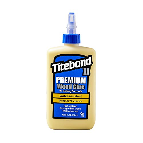 Titebond 5003 II Premium Wood Glue, 8-Ounces